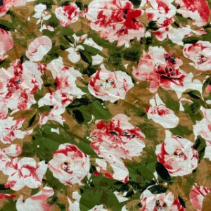 Cambraia Estampada Rosas