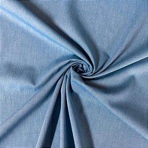 Tricoline Fio Tinto Mercerizado Azul