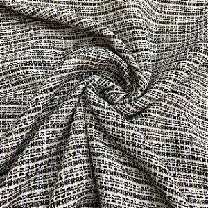 Lã Tweed Mescla Clara