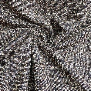 Lã Tweed Tons de Marrom