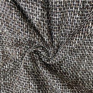 Lã Tweed Trançada