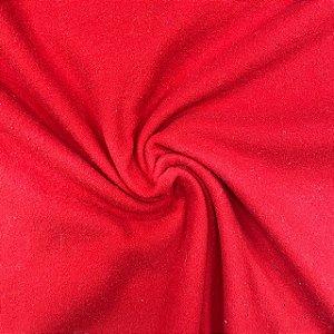 Helanca Flanelada Vermelha