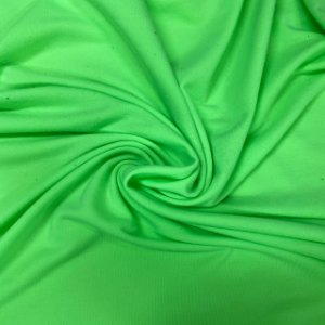 Moletinho Liso Verde Neon
