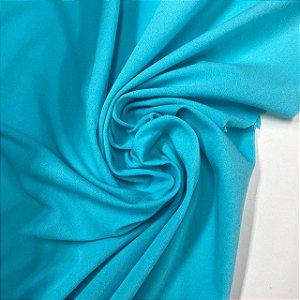 Malha Tensionada Azul Tiffany