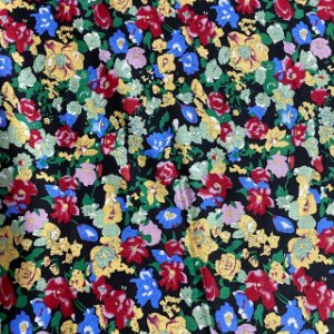 Cambraia Estampada Floral em Cores