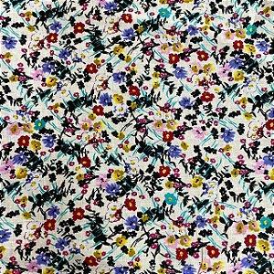 Cambraia Estampada Petit Floral
