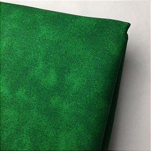 Tricoline Estampada Esponjado Verde
