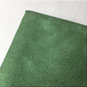 Tricoline Estampada Esponjado Verde Claro