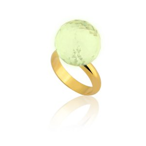 Anel Bubble Ouro Green Gold
