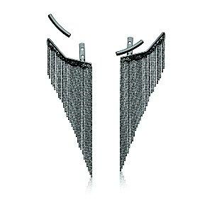 Brinco Clássicos 575 Grande Ródio Negro