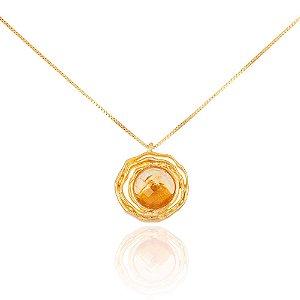 Pingente Delaunay 288 Ouro Citrino Pequeno