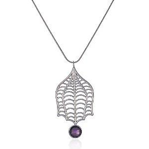 Pingente Iris 325 Ouro Medusa Ametista