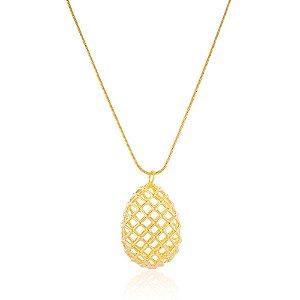 Pingente Bubble  Ovo Fabergé Ouro