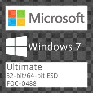 Microsoft Windows 7 Ultimate - Licença + NF-e
