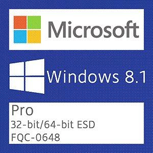 Microsoft Windows 8.1 Pro - Licença + NF-e