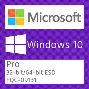 Microsoft Windows 10 Pro - Licença + NF-e