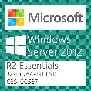 Microsoft Windows Server 2012 R2 Essentials - Licença + NF-e