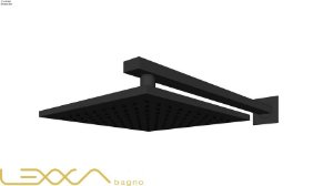 Chuveiro Black de parede 20x20 - Lexxa