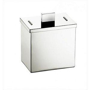 Porta cotonete com strass Elegancy - Rogeart 8302
