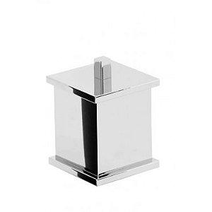 Porta cotonete Quadrado - Rogeart 8202