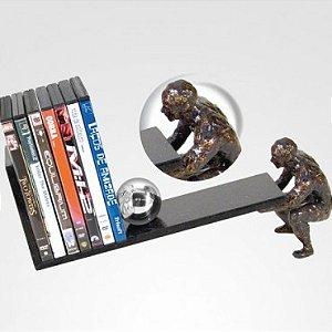 Escultura Porta DVD ou CD Hercules