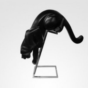 Escultura Pantera atack