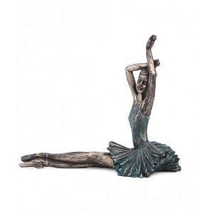 Escultura Balé Sentada