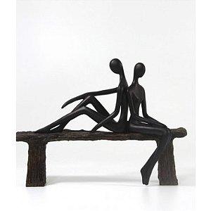 Escultura Casal Love