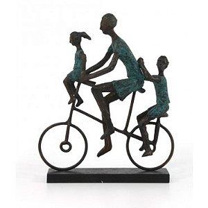 Escultura Ciclo Family