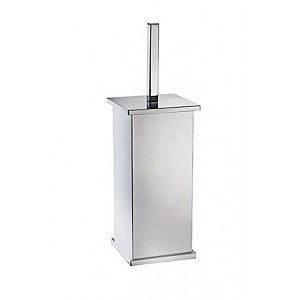 Porta escova WC Quadrado - Rogeart 8255