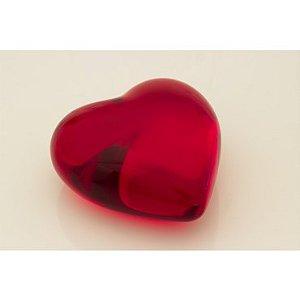Coração M - peso de papel