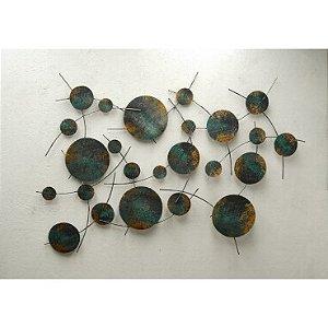 Escultura de parede EK9 - 7695