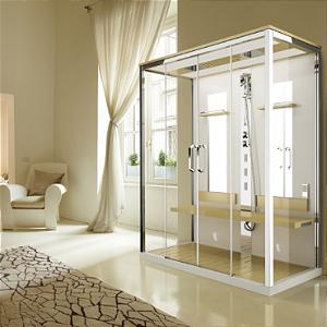 Cabine Multifuncional de Hidromassagem e Sauna - Nexis Dual -  Novellini