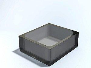 Cuba Quadrada de Bancada - R. Szpilman - Várias Cores Disponíveis