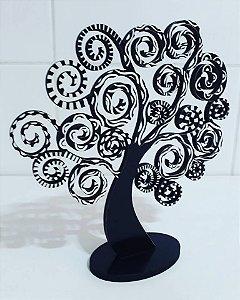 Escultura Árvore Espiral P