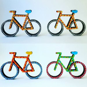 Escultura Bicicleta M