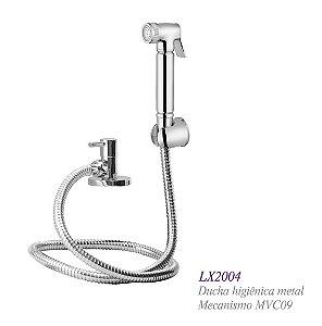 Ducha higiênica com gatilho em metal - Lexxa