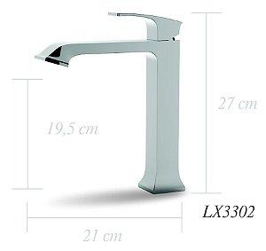 Misturador monocomando para lavatório - Lexxa