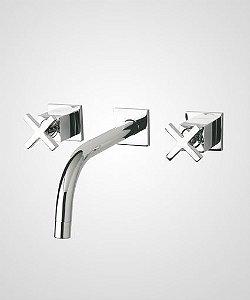 Misturador de parede p/ lavatório Quadra - Perflex