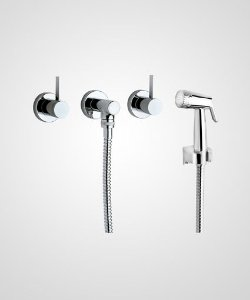 Misturador p/ ducha manual, banheira e ducha higiênica Prisma - Perflex