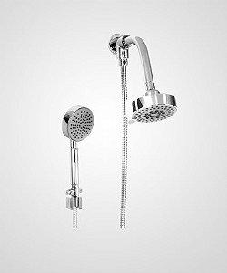 Chuveiro Slim 10cm com desviador e ducha manual - Perflex