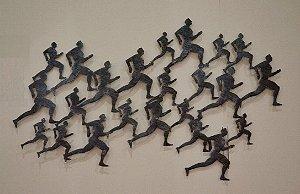 Escultura de parede  Maratona Ek63 - 8482