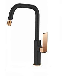 Misturador monocomando para cozinha ou lavatório LX2179BRG- Lexxa