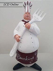 Escultura cozinheiro