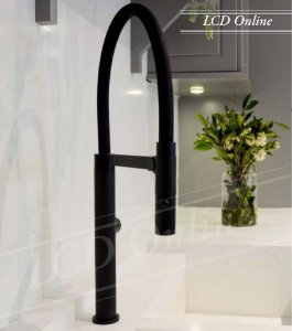 Misturador monocomando Gourmet black LX2288B - Lexxa
