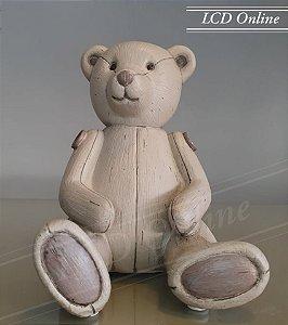 Escultura urso - cofrinho