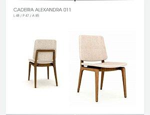 Cadeira Alexandra sem braço 011 - Luccasi Mobili