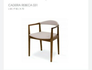 Cadeira Rebeca 031 - Luccasi Mobili
