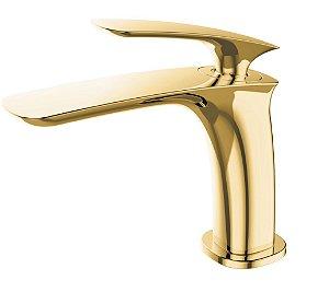 Misturador monocomando Gold para lavatório LX6116G - Lexxa