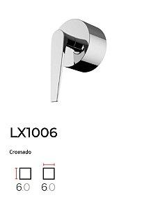 Acabamento de registro Cromado LX1006CR - Lexxa